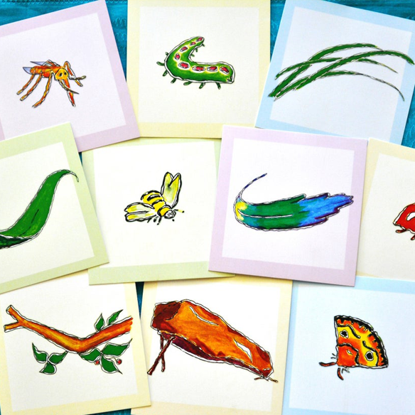 teaching cards